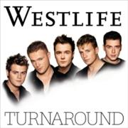 Westlife Turnaround UK CD album