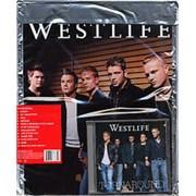 Westlife Turnaround Hong Kong CD album