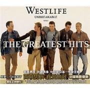 Westlife Unbreakable Vol 1 Taiwan CD album