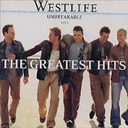 Westlife Unbreakable Volume 1 - The Greatest Hits Colombia CD album
