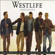 Westlife Unbreakable UK CD single