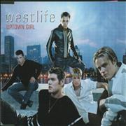 Westlife Uptown Girl Korea CD single