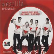 Westlife Uptown Girl UK CD single