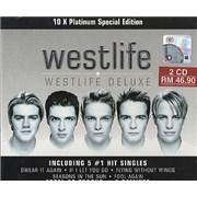 Westlife Westlife Deluxe India 2-CD album set