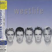 Westlife Westlife Japan CD album Promo