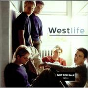 Westlife Westlife USA CD album Promo