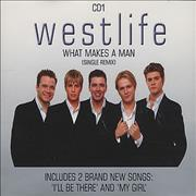 Westlife What Makes A Man UK CD single