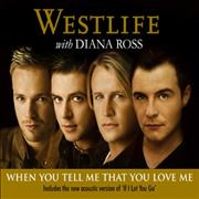 Westlife When You Tell Me That You Love Me UK 2-CD single set