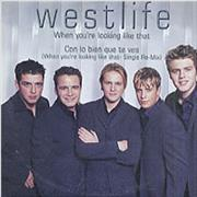 Westlife When You're Looking Like That Mexico CD single Promo
