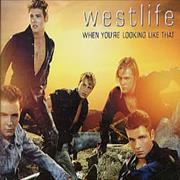 Westlife When You're Looking Like That UK CD single