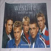 Westlife World Of Our Own Japan poster Promo