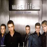Westlife World Of Our Own UK CD single Promo