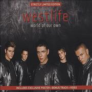 Westlife World Of Our Own Europe 2-CD single set