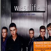 Westlife World Of Our Own Korea CD single