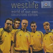 Westlife World Of Our Own Singapore CD album