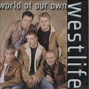 Westlife World Of Our Own Mexico CD single Promo
