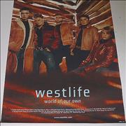 Westlife World Of Our Own UK poster Promo