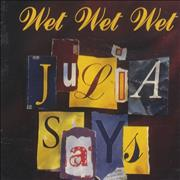 Click here for more info about 'Wet Wet Wet - Julia Says'