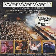 Click here for more info about 'Wet Wet Wet - Playing Away At Home - Live At Celtic Park'