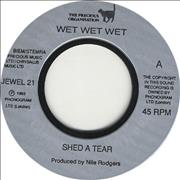 Click here for more info about 'Wet Wet Wet - Shed A Tear - Jukebox Issue'