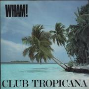 "Wham Club Tropicana - Inj - P/S UK 7"" vinyl"