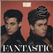 Click here for more info about 'Wham - Fantastic - stickered p/s'