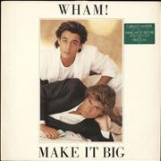 Click here for more info about 'Wham - Make It Big - Green hype sticker'