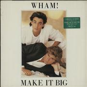 Click here for more info about 'Wham - Make It Big - Stickered sleeve'