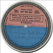 Click here for more info about 'Whistling Jack Smith - I Was Kaiser Bill's Batman aka ' Around The World With' - Test Pressing'