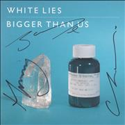 Click here for more info about 'White Lies - Bigger Than Us - Autographed'