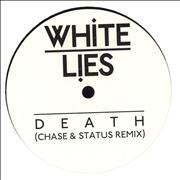 "White Lies Death (Remixes) UK 12"" vinyl"