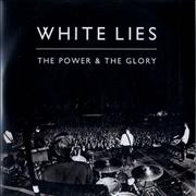 White Lies The Power & The Glory UK CD-R acetate Promo