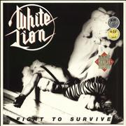 Click here for more info about 'White Lion - Fight To Survive'