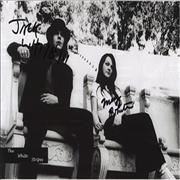 Click here for more info about 'The White Stripes - Autographed Photo'
