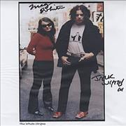 Click here for more info about 'The White Stripes - Autographed Publicity Photograph'