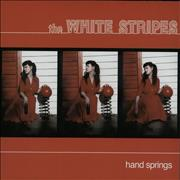 Click here for more info about 'The White Stripes - Hand Springs - RSD12 - Red & Black Vinyl'