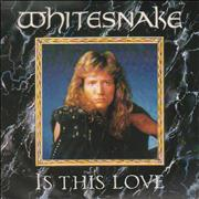 Click here for more info about 'Whitesnake - Is This Love - Solid'