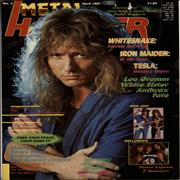Click here for more info about 'Whitesnake - Metal Hammer - April 1987'