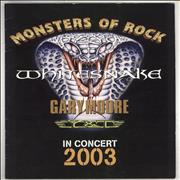 Click here for more info about 'Whitesnake - Monsters Of Rock - In Concert 2003'