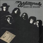 Click here for more info about 'Whitesnake - Ready An' Willing + Ticket Stub'