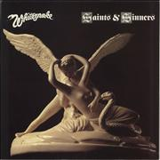 Click here for more info about 'Whitesnake - Saints & Sinners + Merchandise Insert'