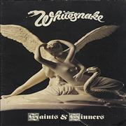 Click here for more info about 'Whitesnake - Saints & Sinners + ticket stub'