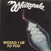 Click here for more info about 'Whitesnake - Would I Lie To You'