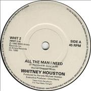 Click here for more info about 'Whitney Houston - All The Man I Need'