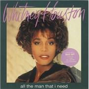 Whitney Houston All The Man That I Need - Box UK box set