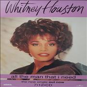 Click here for more info about 'Whitney Houston - All The Man That I Need'