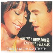 Click here for more info about 'Whitney Houston - Could I Have This Kiss Forever - Picture sleeve'