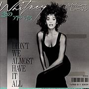 Click here for more info about 'Whitney Houston - Didn't We Almost Have It All'