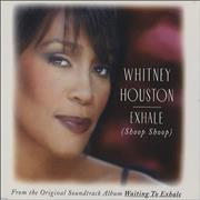 Whitney Houston Exhale (Shoop Shoop) UK CD single