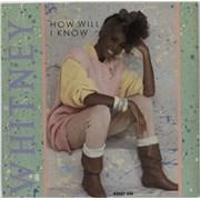 "Whitney Houston How Will I Know UK 7"" vinyl"